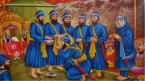 The Panj Pyare (beloved ones) are the crucial part of Baisakhi celebrations