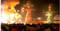 Dussehra in 2017 will be celebrated on October 22.