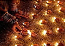 Narak Chaturdashi in 2016 or Kali Chaudas in 2016 is the second day of Diwali festival.