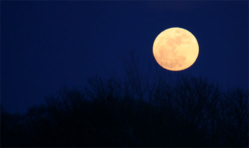 Purnima the Full Moon day occurs every month as per the lunar calendar.