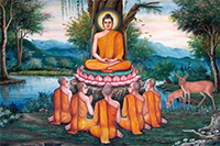 On the day of  Buddha Purnima Gautam Buddha attained the path of Enlightenment